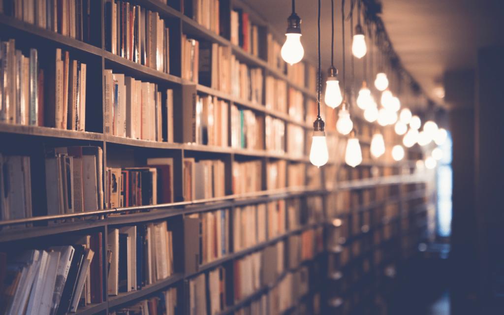 Bibliothek juristische Recherche