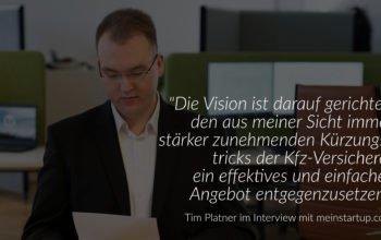 meinstartup.com im Interview mit Tim Platner über Unfallanwälte.de